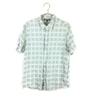 Michael Kors L Large Shirt Linen Tailored Classic